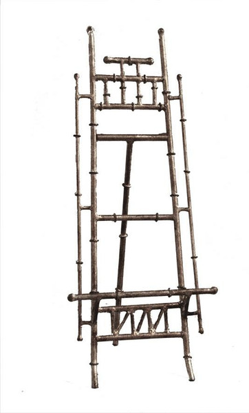 HC648 Antique Silver Iron Bamboo Easel (Pack of 2) by Dessau Home