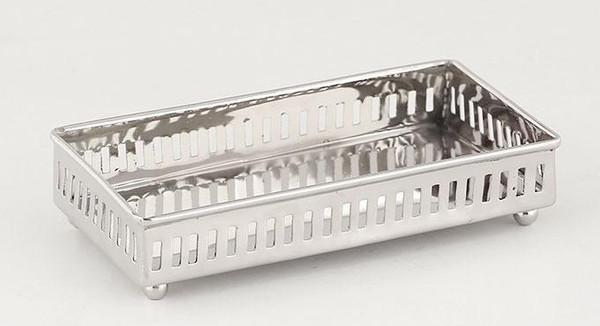 ST415 Nickel Steel Pierced Guest Towel Holder (Pack of 4) by Dessau Home