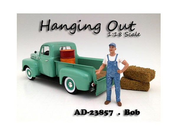 """""""Hanging Out"""" Bob Figure For 1:18 Scale Models By American Diorama (Pack Of 3) 23857"""