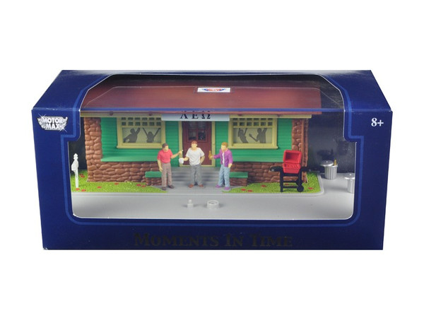 """""""Moments In Time"""" Diorama Put Your Own Car Inside 1/43 by Motormax 73866N"""