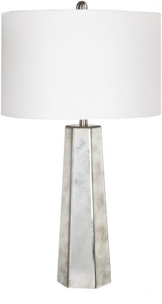 Antiqued Mirror Table Lamp PRLP-001