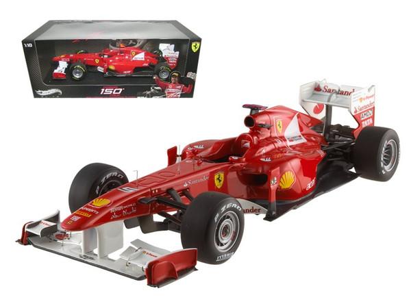 Ferrari 150 Italia Fernando Alonso 2011 Turkish GP Elite Edition 1/18 Diecast Model Car by Hotwheels W1198