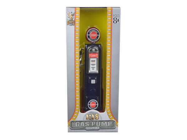 Studebaker Gasoline Vintage Gas Pump Digital 1/18 Diecast Replica By Road Signature (Pack Of 3) YM98651