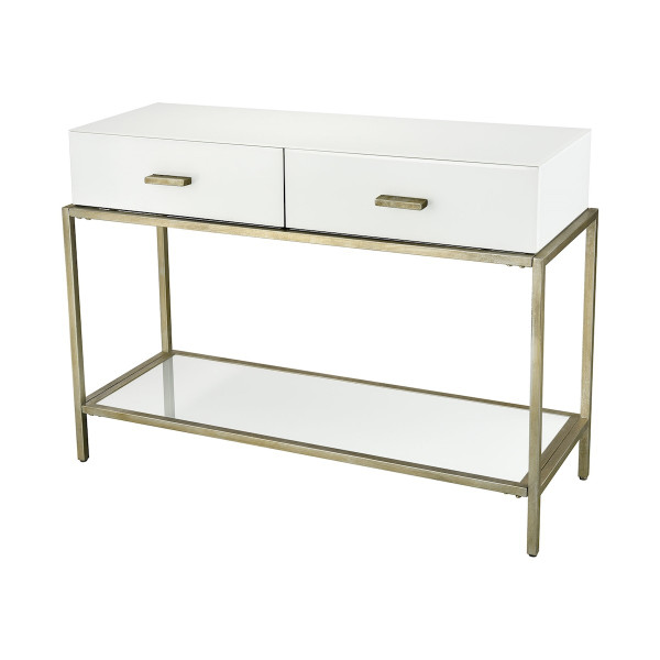 Dimond Home Evans White Console Table 1114-253