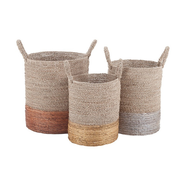 Dimond Home Mixed Metallics Nested Baskets 7011-001/S3