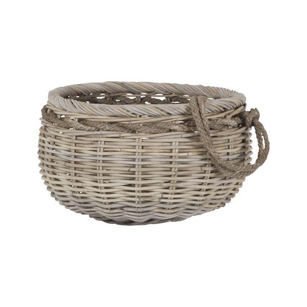 Dimond Home Sumbawa Natural Rattan Basket - Small 7011-287