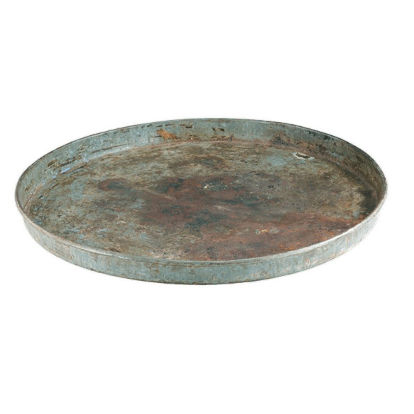 00254 DK Living Iron Round Plate (Assorted Finishes)