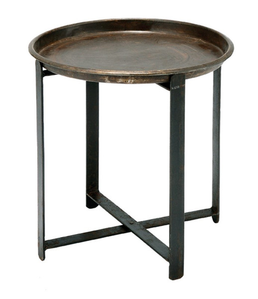 00499 DK Living Iron Vintage Side Table