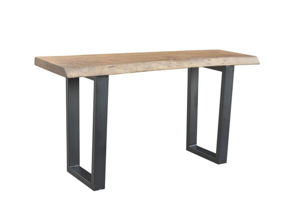 185004 DK Living Natural Wood And Iron Loft Console Table