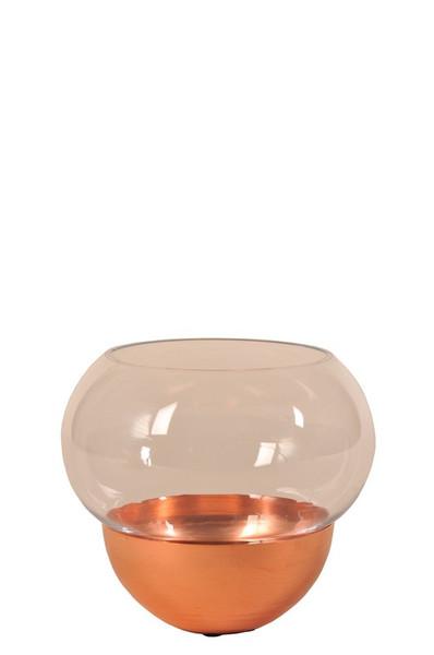 41583 DK Living Glass Bowl And Vase