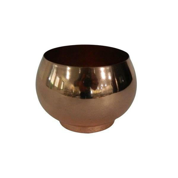 525029 DK Living Iron Copper Finish Votive