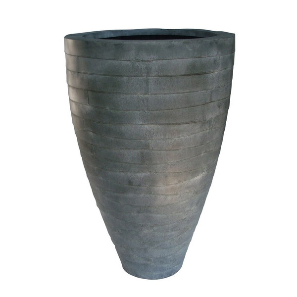 93509 DK Living Metal Oval Tall Vase