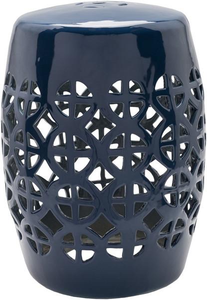 Dark Blue Stool - 13 X 13 X 18 RWY004-131318
