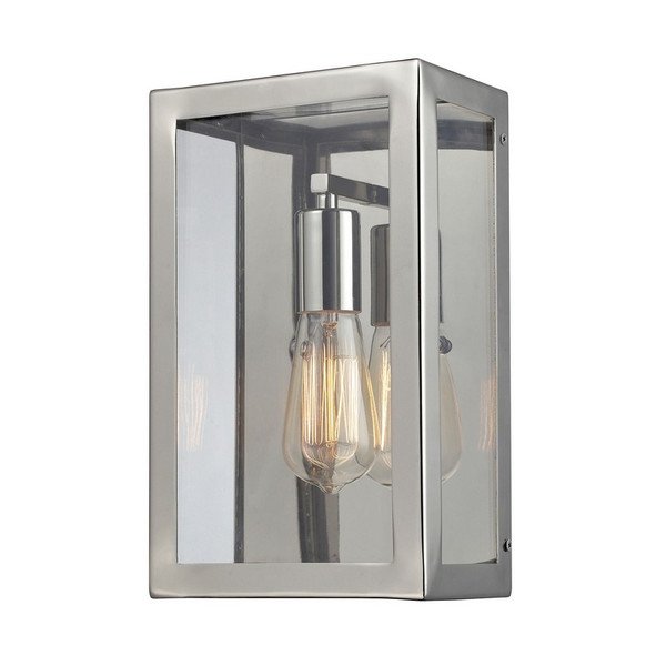 Elk 1- Light Wall Sconce In Polished Chrome 31210/1
