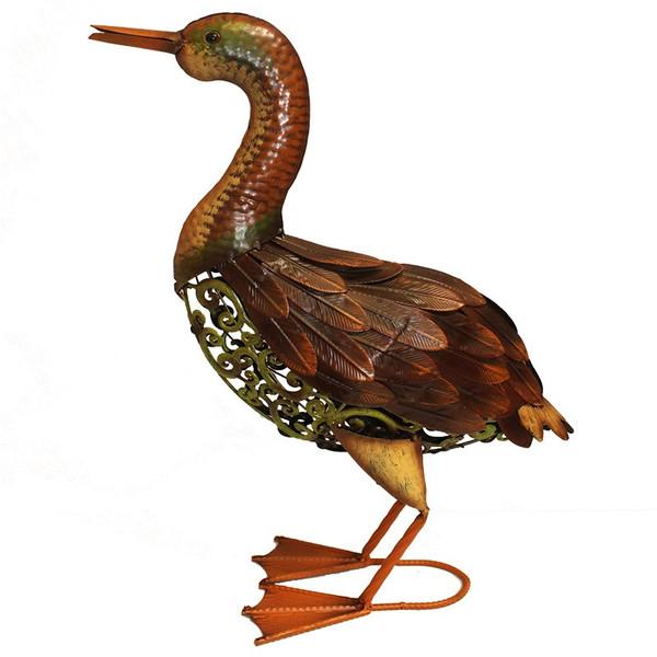 EN112220 Essential Metal Duck Figurine - Pack Of 6