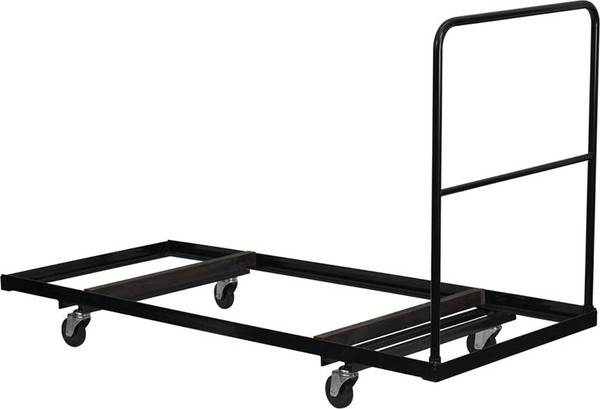 Black Steel Folding Table Dolly For 30X72 Folding Tables NG-DY3072-GG