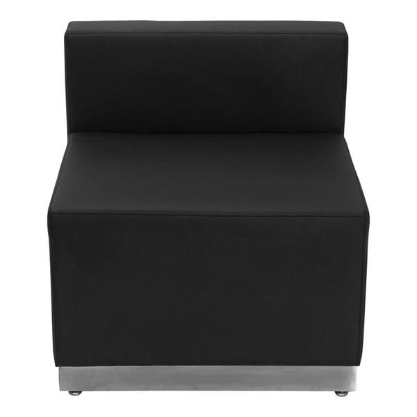Flash Furniture Hercules Alon Black Leather Chair ZB-803-CHAIR-BK-GG