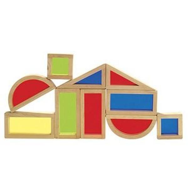 G3015 Rainbow Blocks 10 Piece by Guidecraft