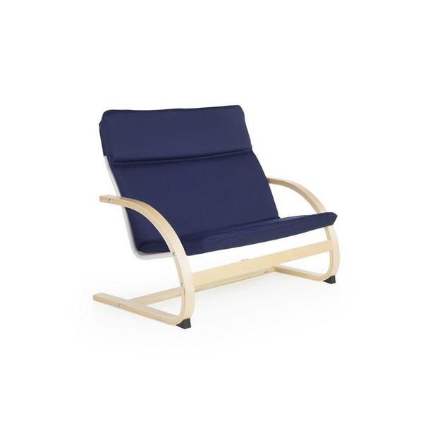 G6407K Kiddie Rocker Couch - Blue by Guidecraft