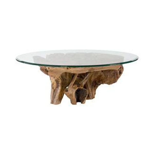 Hammary Hidden Treasures Root Ball Cocktail Table 090-555R