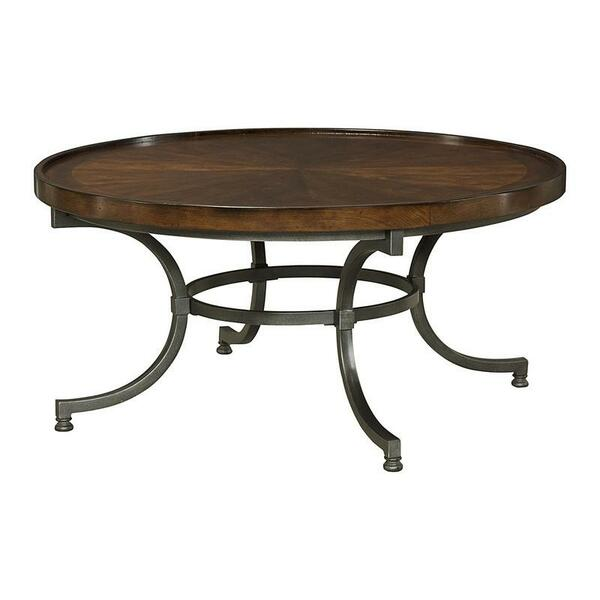 Hammary Barrow Round Cocktail Table- Kd 358-911