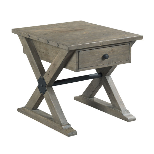 Hammary Furniture Rectangular Drawer End Table-Kd 523-915