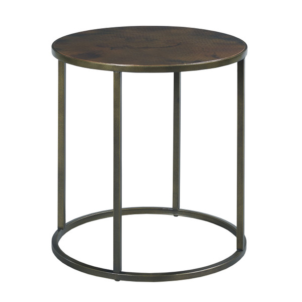 Hammary Furniture Round End Table 553-918