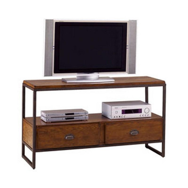 Hammary Baja Entertainment Console Table In Vintage Umber T20750-T2075286-00