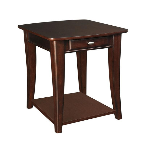 Hammary Enclave Espresso Rectangular End Table T20790-T2079221-00
