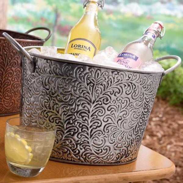 11642 Silver Wine Tub (Pack Of 6)