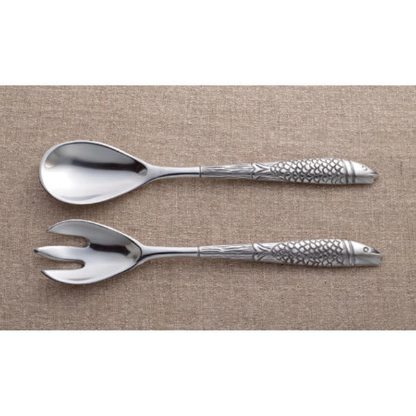 Fish Servers, Set Of 2, Pack Of 4 11791 By India Handicrafts