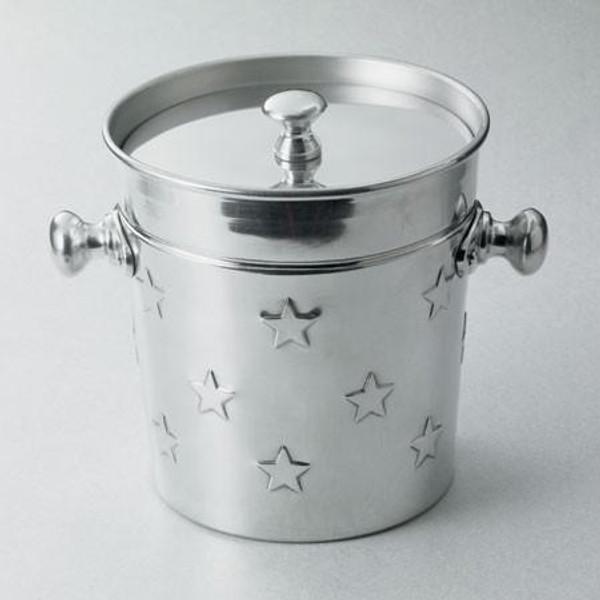 12272 Aluminum Star Ice Bucket (Pack Of 4)