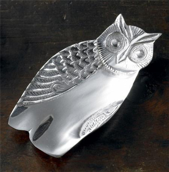 12369 Owl Tray Small (Pack Of 6)