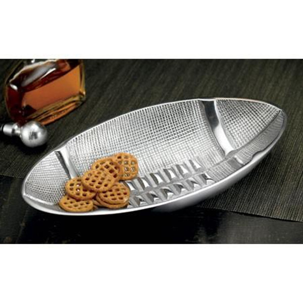 12459 Textured Football Bowl (Pack Of 3)