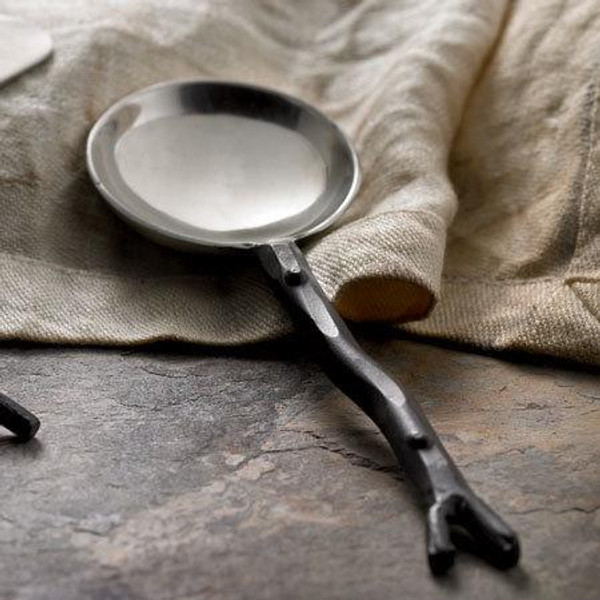 Steel Branch Spoon, Pack Of 12 12822 By India Handicrafts