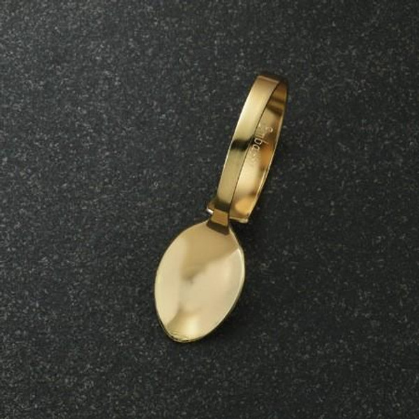 13926 Gilded Spoon (Pack Of 12)