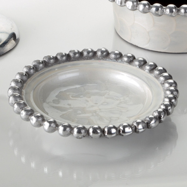 Pearl Beaded Dish, Pack Of 6 14001 By India Handicrafts