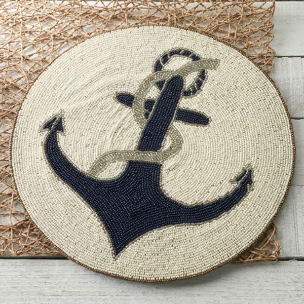 Anchor Placemat, Pack Of 4 15185 By India Handicrafts