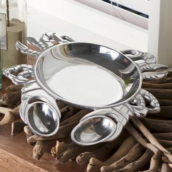 Aluminum Crab Dish, Pack Of 2 15186 By India Handicrafts
