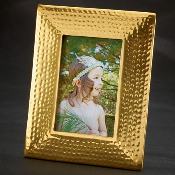 16005 Gold Photo Frame 85X67 (Pack Of 4)