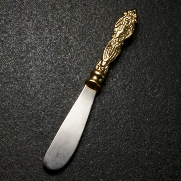 Aluminum Gilded Fdl Spreader, Pack Of 12 16033 By India Handicrafts