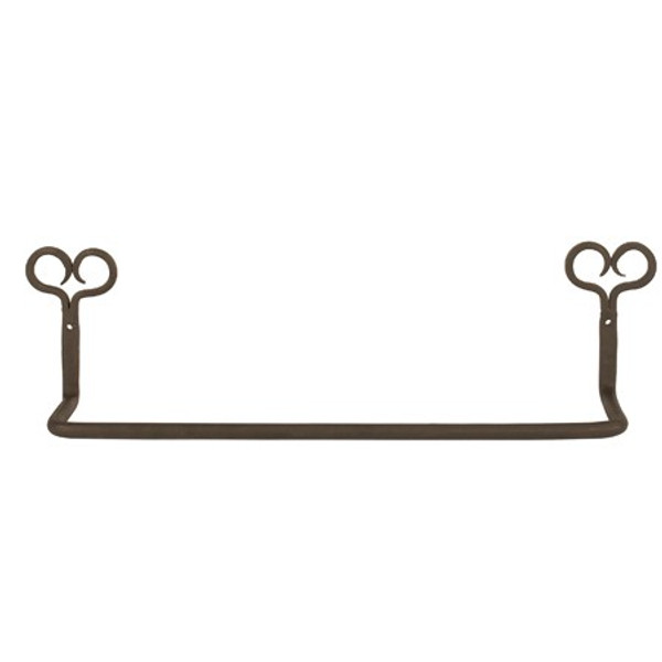3096 Iron Heart Towel Holder (Pack Of 6)