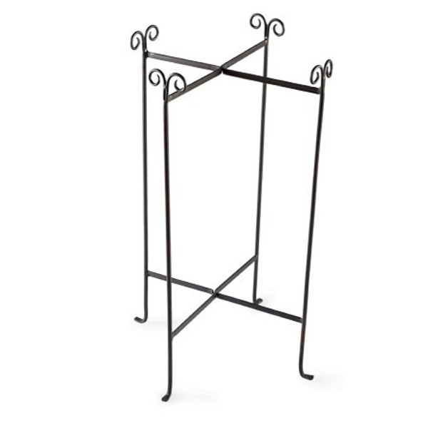 6495 Iron Stand Extra Large Round Tub (Pack Of 4)