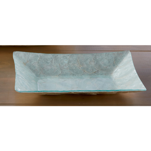 Pearl Rectangle Tray Large, Pack Of 2 655932 By India Handicrafts