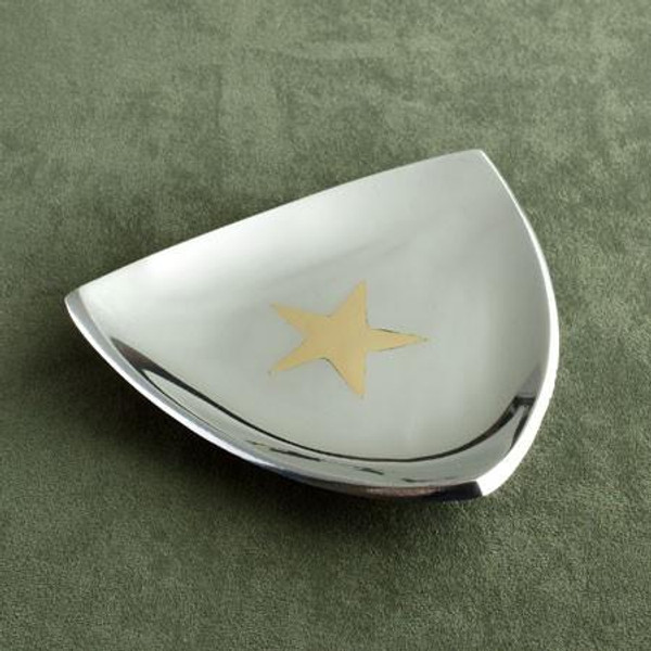 7412 Aluminuminum Star Triangle Plate (Pack Of 12)