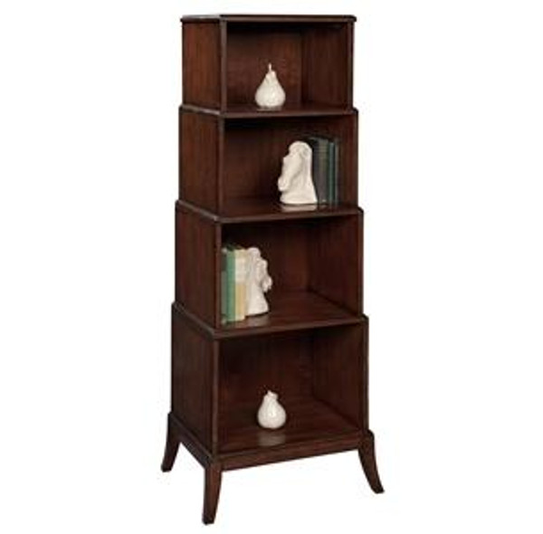 27221 Hekman Four Tiered Bookcase