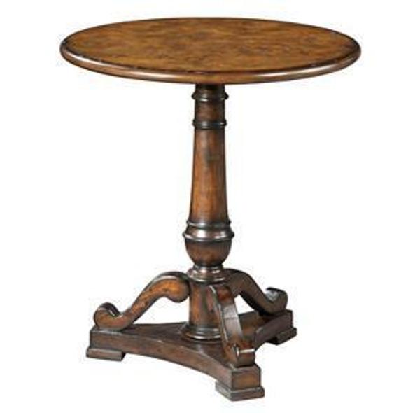 27306 Hekman Round Pedestal Table
