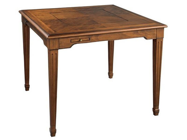 27591 Hekman Accents 4-Drink Drawers Game Table