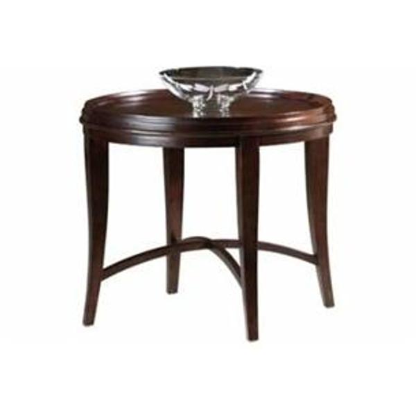 704040067 Hekman Metropolis Round Lamp Table
