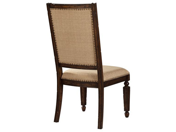 942807CY Hekman Canyon Retreat Upholstered Side Chair